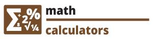 Math calculators calculazy.com